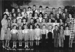 First grade Merriam, 1945-46. Submitted by Mary Sue (Childers) Foster.