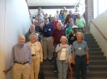 1957 Classmates on the Shawnee Mission Tour. Taken by Cindy Hedrick