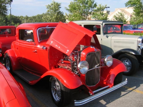 32 Ford probably replica