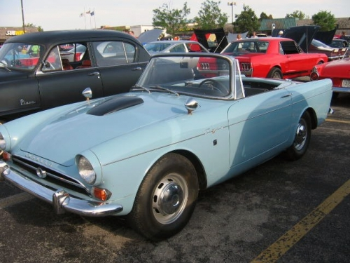 260 Cu in Ford V8 Ford powered Sunbeam Tiger