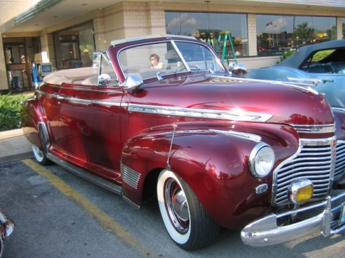 46 - 48 Chevy convertible