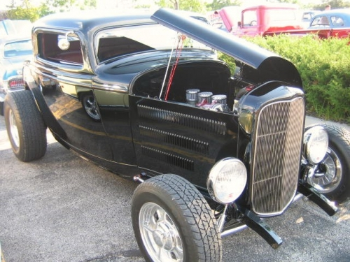32 Ford 3 Window Coup