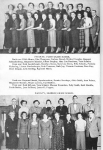 FACULTY, FLINT GRADE SCHOOL       Back row:  Edith Means, Rita Thompson, Barbara Breuel, Mildred Toepfer, Margaret Schna