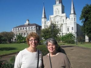 Peggy and Daughter Jeanne enjoying New Orleans