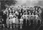 Kindergarten, a really long time ago. Submitted by Mary Sue (Childers) Foster.