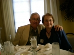 Dave Blevins with wife Mary Lou (Amick) Blevins