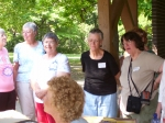 Pat Martinson, Mary Thompson Riney, Florence Rial Haskett, Waverly Anderson Lewis, Peggy Willis Sherard, Sandy GrubbChap