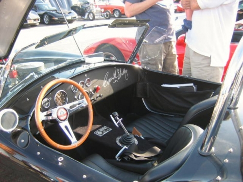 interior Shelby Cobra #6