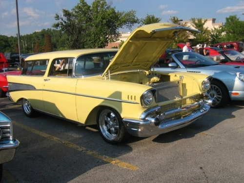 1957 Chevy Nomad Station Wagon