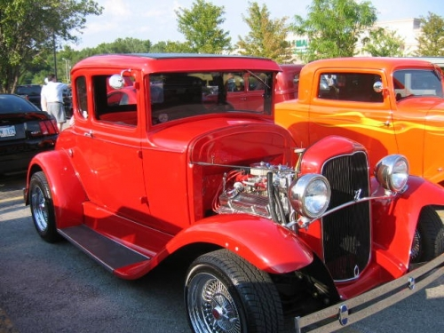 32 Ford 5 Window Coup