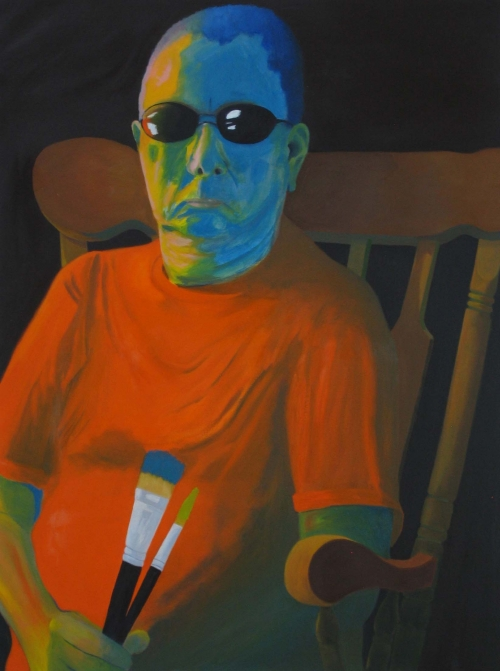Tom Kirby  Self Portrait  Oil