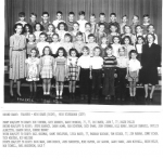 1946 - 47 Second Grade Teachers Miss Drake Miss Richardson  Submitted by Roger Pulley
