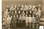1944 - 1945 Kindergarden Teacher Mrs.Wilma Seaton Submitted by Sonny Miller and Barb New Smith