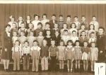 1945 - 1946 First Grade Mrs. Hahn and ? Submitted by Sonny Miller and Barb New Smith