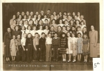1949 - 1950 Grade 5 Submitted by Sonny Miller and Barb New Smith