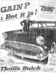 Car Ad Feb. 1957 K.C. Star. Submitted by Peggy Willis Sherard.